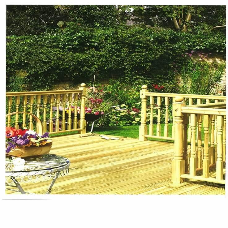 Garden Decking Cheshire Runcorn Amp Warrington Bridge Timber