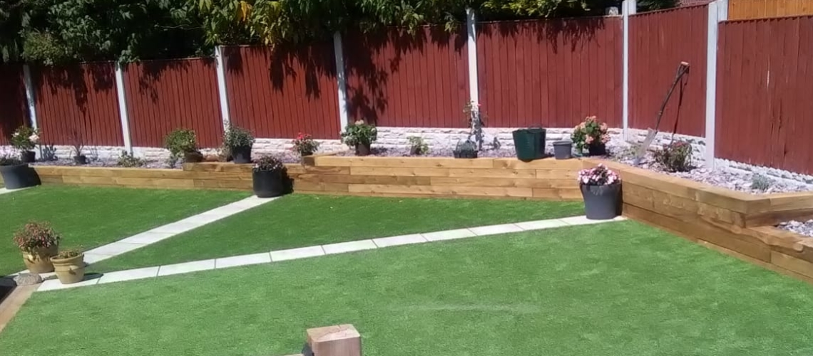 Fence Panels and Garden Sleepers