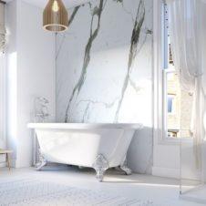 Bathroom Shower UPVC Wall Cladding